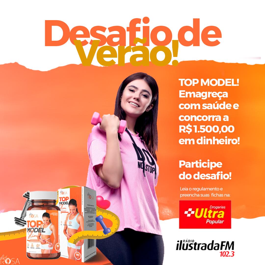 TOP MODEL Desafio de Verão Ilustrada FM