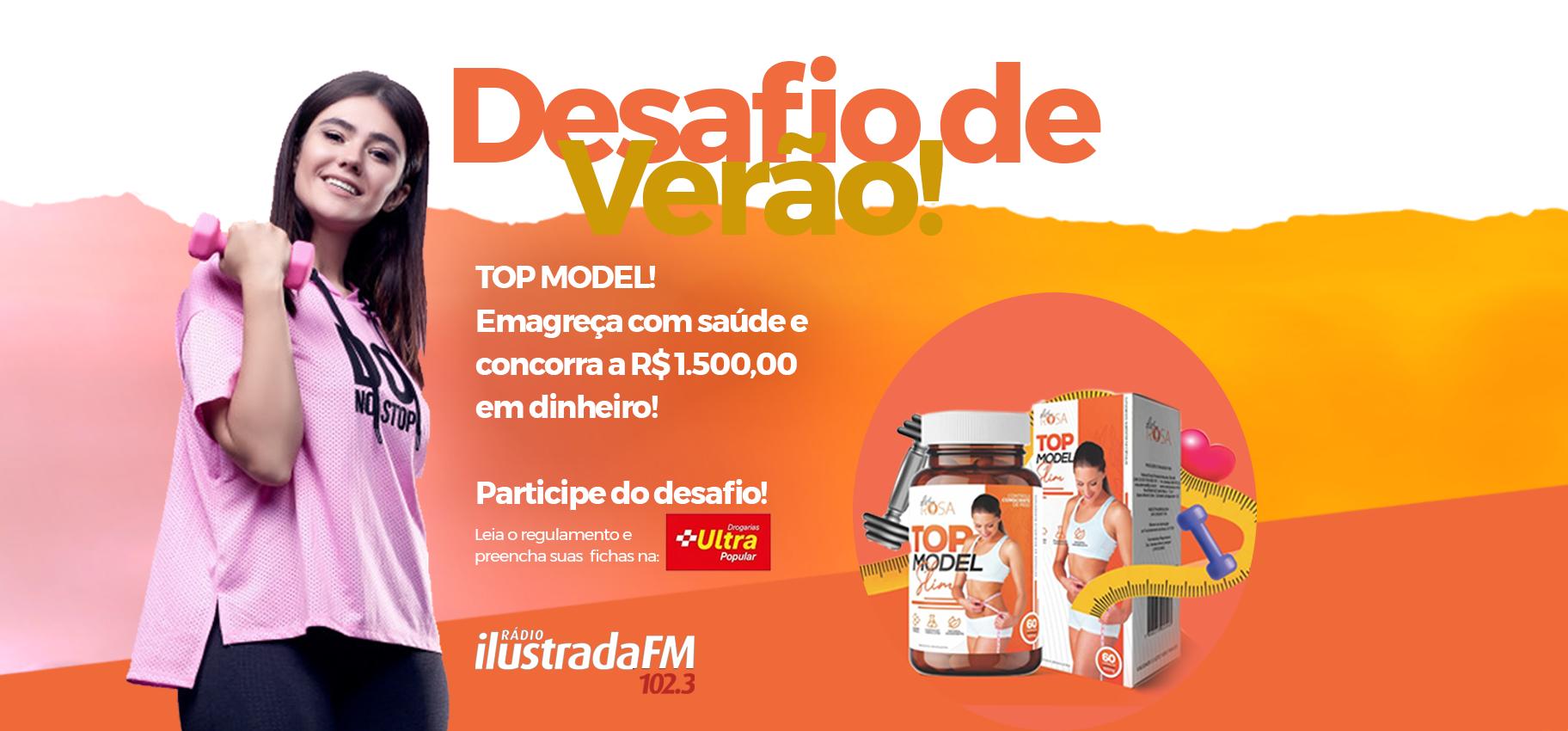 Promoção Desafio de Verão Ilustrada FM