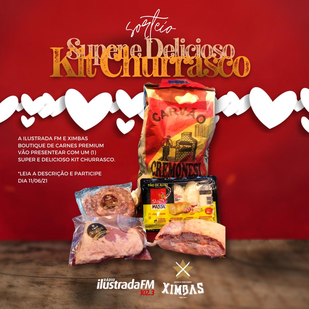 Kit Churrasco de Dia dos Namorados